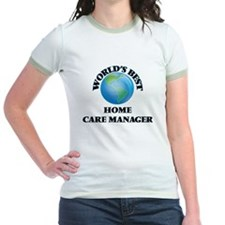 World's Best Home Care Manager T-Shirt