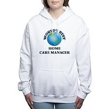 World's Best Home Care M Women's Hooded Sweatshirt
