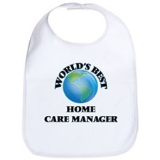 World's Best Home Care Manager Bib