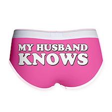 My Husband Knows Women's Boy Brief