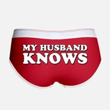 My Husband Knows Women's Boy Brief