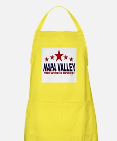 Napa Valley The Wine Is Divine Apron