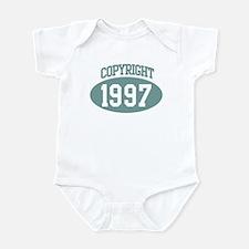 Copyright 1997 Infant Bodysuit