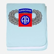 82nd Airborne Division baby blanket