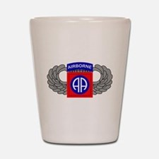 82nd Airborne Division Shot Glass