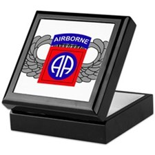 82nd Airborne Division Keepsake Box