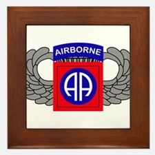 82nd Airborne Division Framed Tile