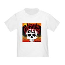 """PHILLY 215 GRAFFITI SKULL"" T"
