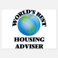 World's Best Housing Adviser Invitations