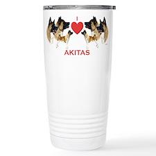 Cute Akita Travel Mug