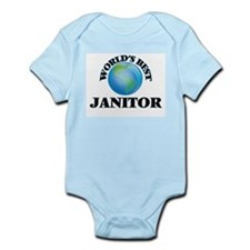 World's Best Janitor Body Suit