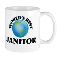 World's Best Janitor Mugs