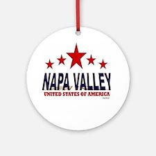 Napa Valley U.S.A. Ornament (Round)