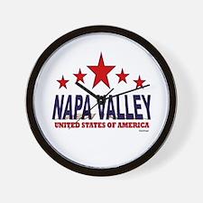 Napa Valley U.S.A. Wall Clock