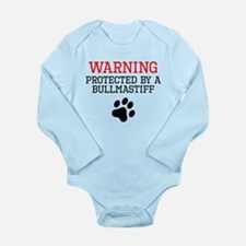 Protected By A Bullmastiff Body Suit