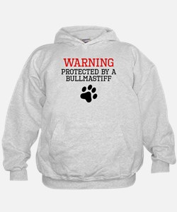 Protected By A Bullmastiff Hoodie