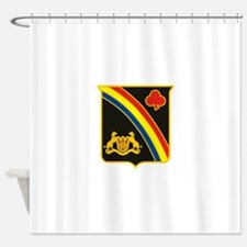 69th ID Crest.png Shower Curtain