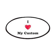 I Love My Custom Patches
