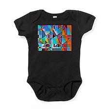 Cubist Rolling Hills Baby Bodysuit