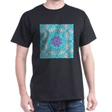 Vintage turquoise bohemian pattern T-Shirt