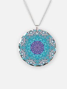 Vintage turquoise bohemian p Necklace