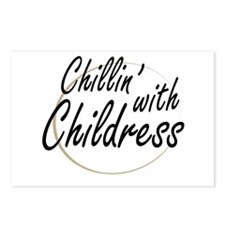 Chilling With Childress Postcards (package Of 8)
