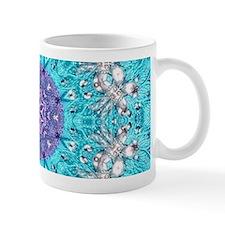Vintage turquoise bohemian pattern Mugs