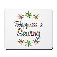 Happiness is Sewing Mousepad
