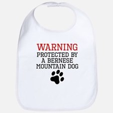 Protected By A Bernese Mountain Dog Bib