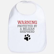 Protected By A Belgian Shepherd Bib