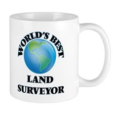 World's Best Land Surveyor Mugs