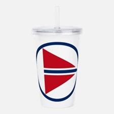 norway_roundel.png Acrylic Double-wall Tumbler