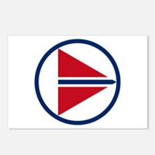 norway_roundel.png Postcards (Package of 8)