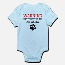 Protected By An Akita Body Suit