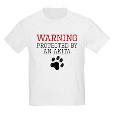 Protected By An Akita T-Shirt