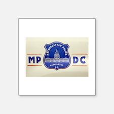 dc-police-emblem Sticker