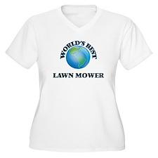 World's Best Lawn Mower Plus Size T-Shirt