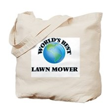 World's Best Lawn Mower Tote Bag