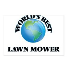 World's Best Lawn Mower Postcards (Package of 8)
