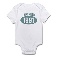 Copyright 1991 Infant Bodysuit