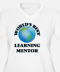World's Best Learning Mentor Plus Size T-Shirt