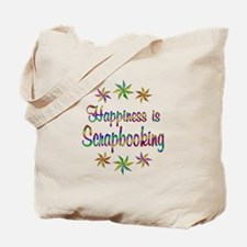 Happiness is Scrapbooking Tote Bag