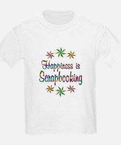 Happiness is Scrapbooking T-Shirt