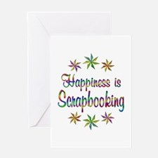 Happiness is Scrapbooking Greeting Card