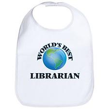 World's Best Librarian Bib