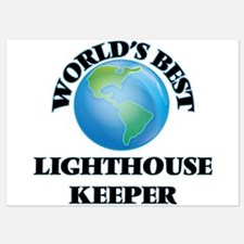 World's Best Lighthouse Keeper Invitations