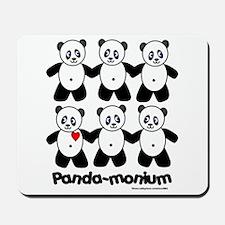 Panda-monium Mousepad