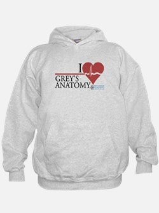 I Heart Grey's Anatomy Kid's Hoodie