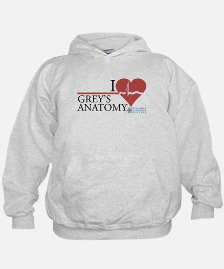 I Heart Grey's Anatomy Kid's Hoodie