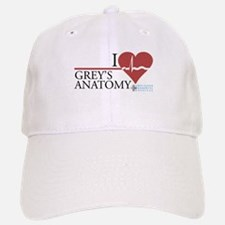 I Heart Grey's Anatomy Baseball Baseball Cap